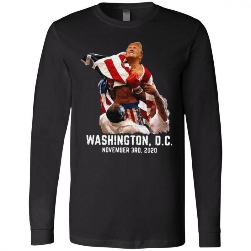 Trump boxing Washington DC November 3RD 2020 Shirt