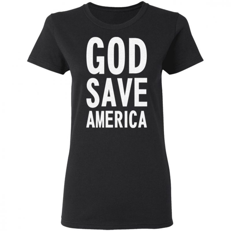 Kanye West God Save America T Shirt