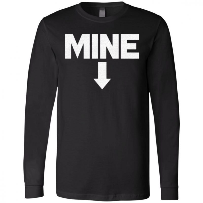 SNL Leslie Jones MINE Arrow T Shirt