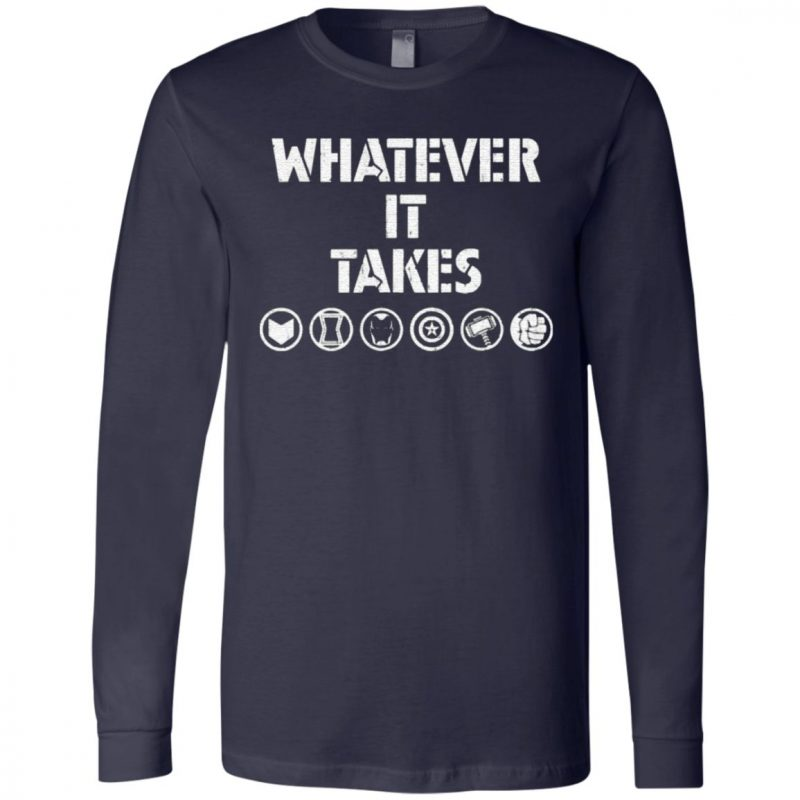 Marvel Avengers Endgame Whatever It Takes T-Shirt