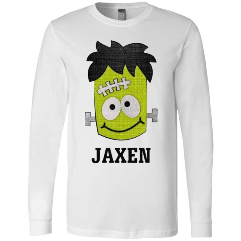 Frankenstein Jaxen Halloween t shirt