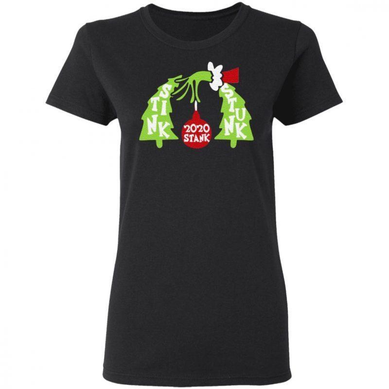 Grinch 2020 Stink Stank Stunk T Shirt