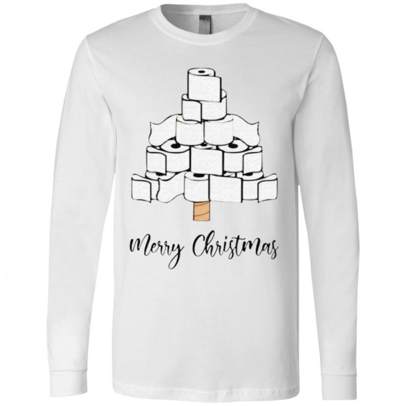 Toilet Paper Merry Christmas Tree 2020 T Shirt