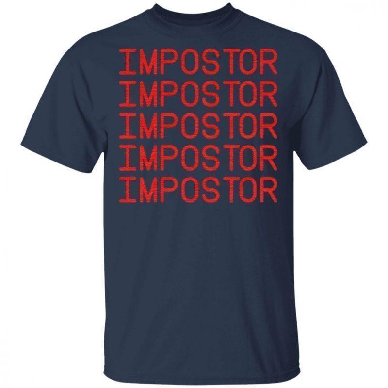 Among Impostor Us Game T-Shirt