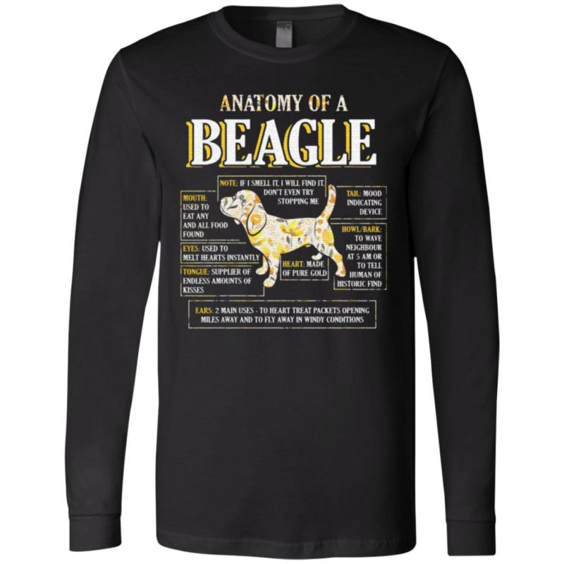Anatomy Of A Beagle T-Shirt