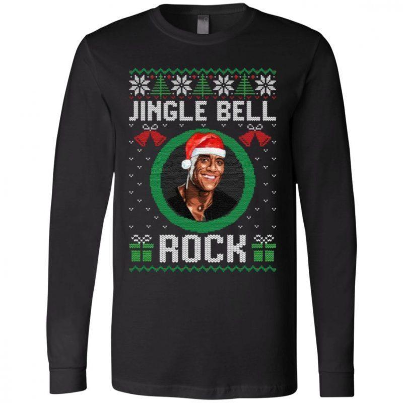 Jingle Bell Jingle Bell Jingle Bell Rock Christmas T Shirt