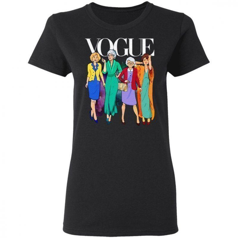 Vogue Golden Girls T Shirt