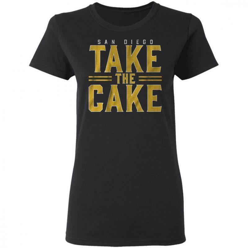 San Diego take the cake t shirt