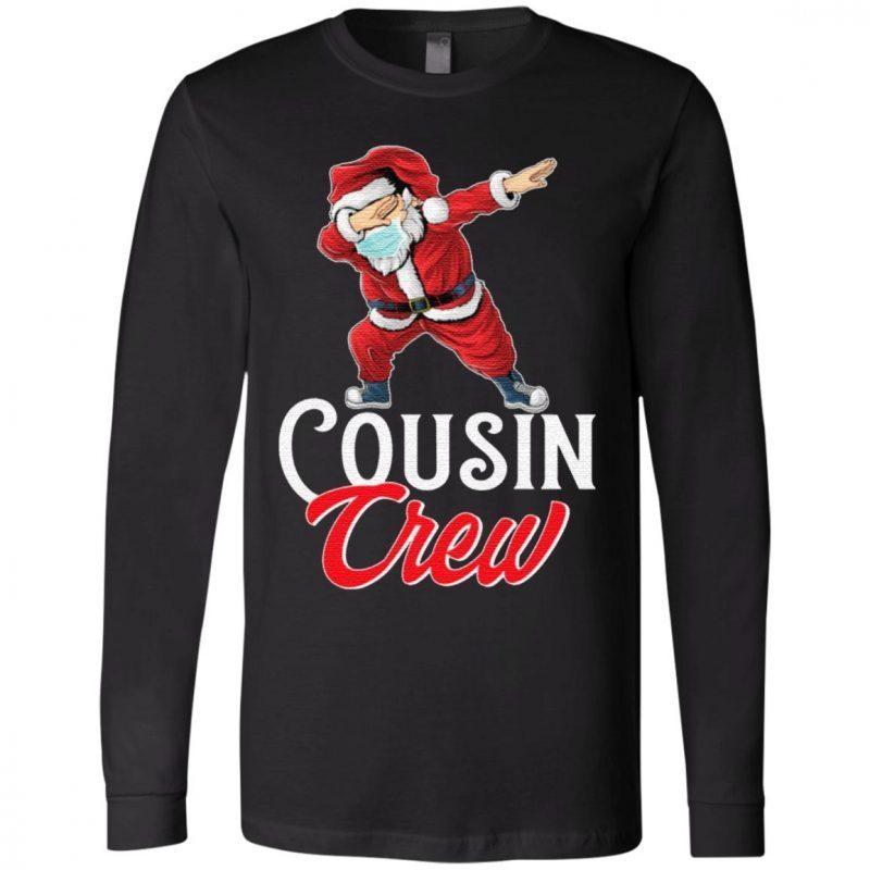 Cousin Crew Santa Dab Christmas T-Shirt