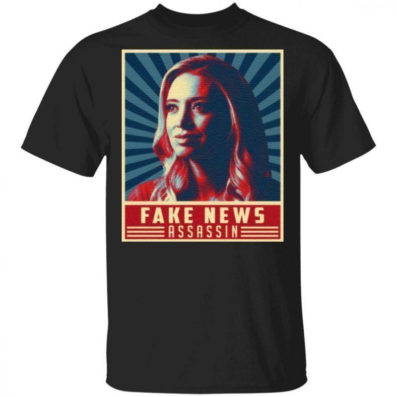 Fake News Assassin Kayleigh Press Secretary Mcenany T-Shirt