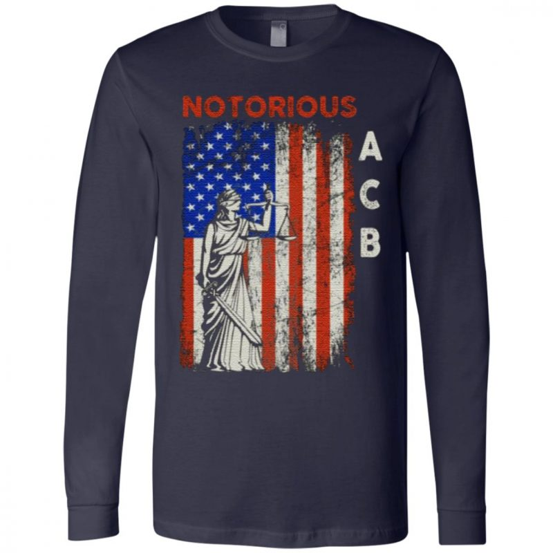 Notorious ACB Amy Coney Barrette Supreme Court Lady Justice Republican T-Shirt