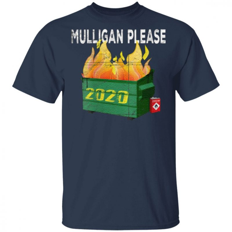 Women's Funny 2020 Dumpster Fire Golfer Mulligan Do Over T Shirt
