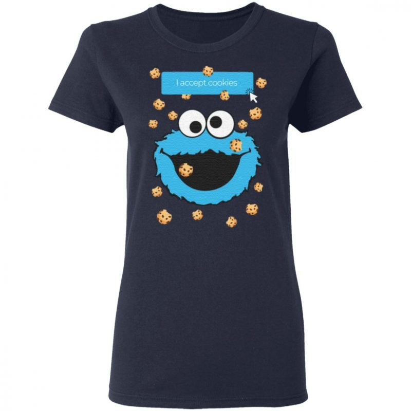 Cookie Monster I Accept Cookies T Shirt
