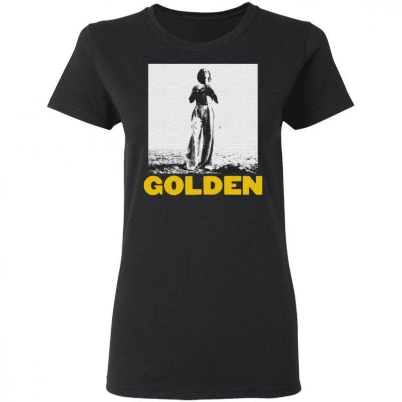 harry styles golden t shirt