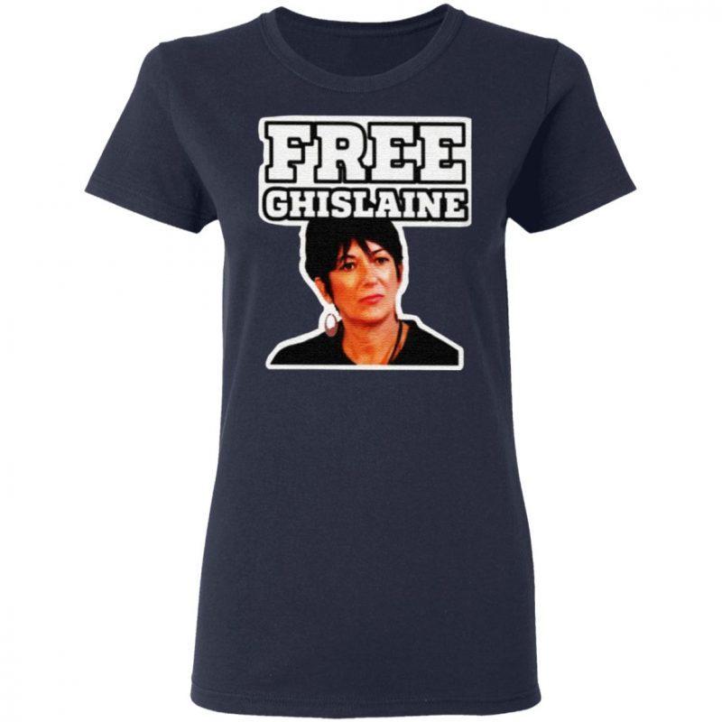 frees ghislaine shirt