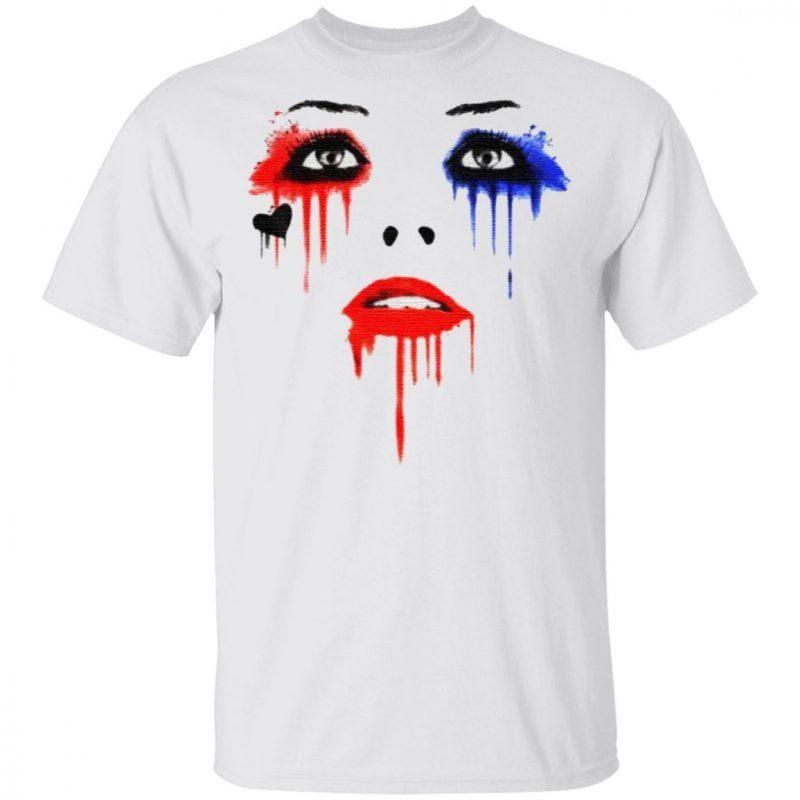 Harley Quinn Face Tee Shirt