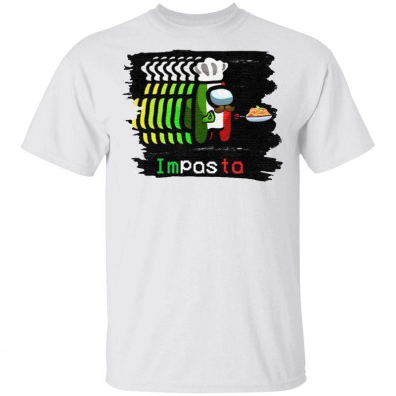 Imposter Impostor Among Game Us Sus Impasta Italian T Shirt