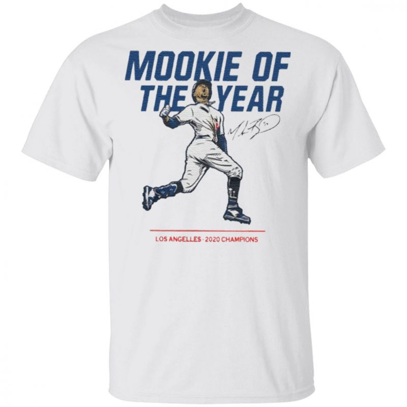 Mookie Of The Year Los Angelles 2020 Champions T Shirt