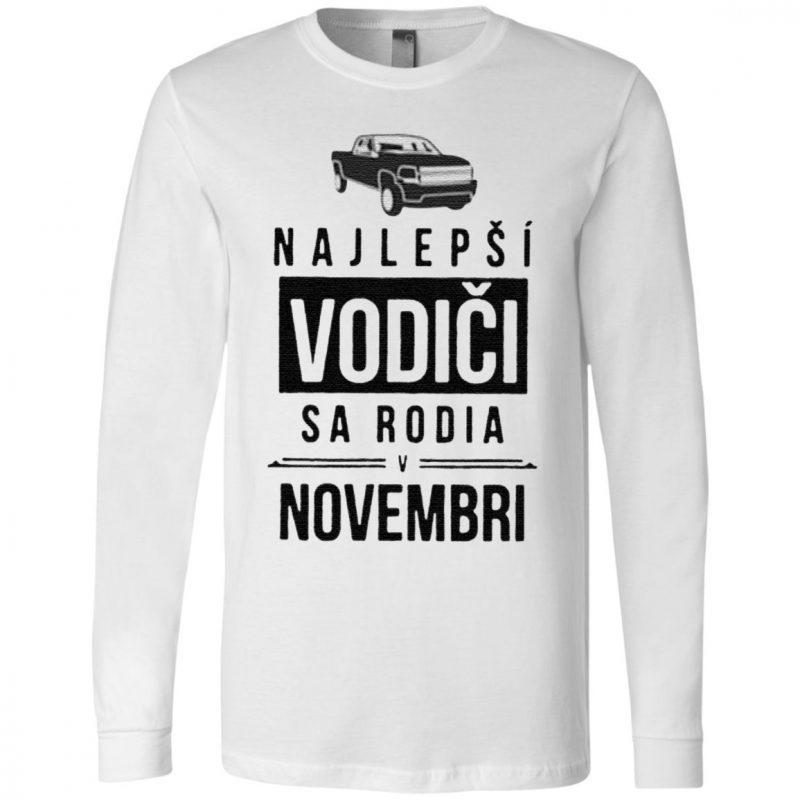 Najlepsi Vodici Sa Rodia Novembri T Shirt