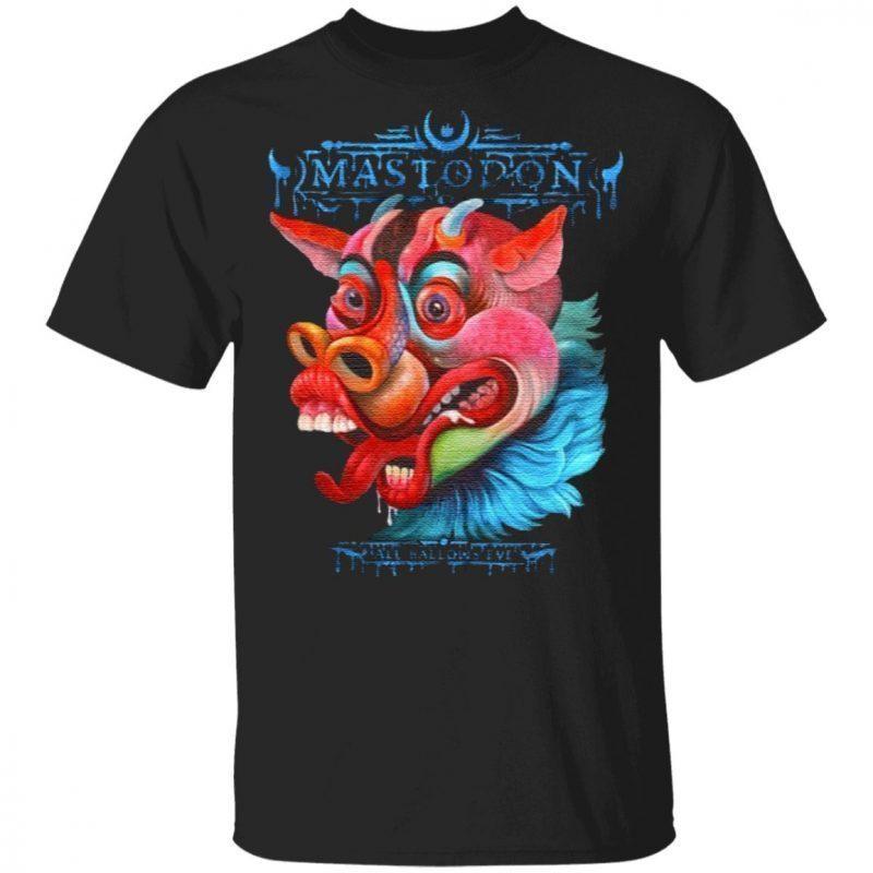 mastodon all halloween t shirt