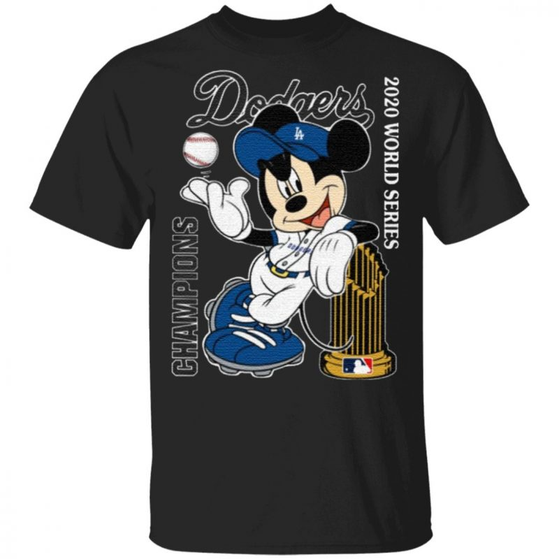 Mickey Mouse Dodgers Championship 2020 T Shirt