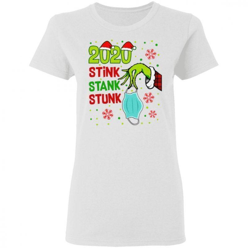 2020 Stink Stank Stunk Christmas T-Shirt