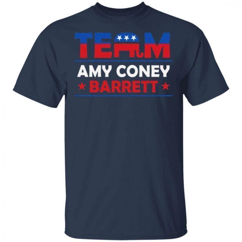 Team Republican Amy Coney Barrett Pro Trump 2020 Election T-Shirt