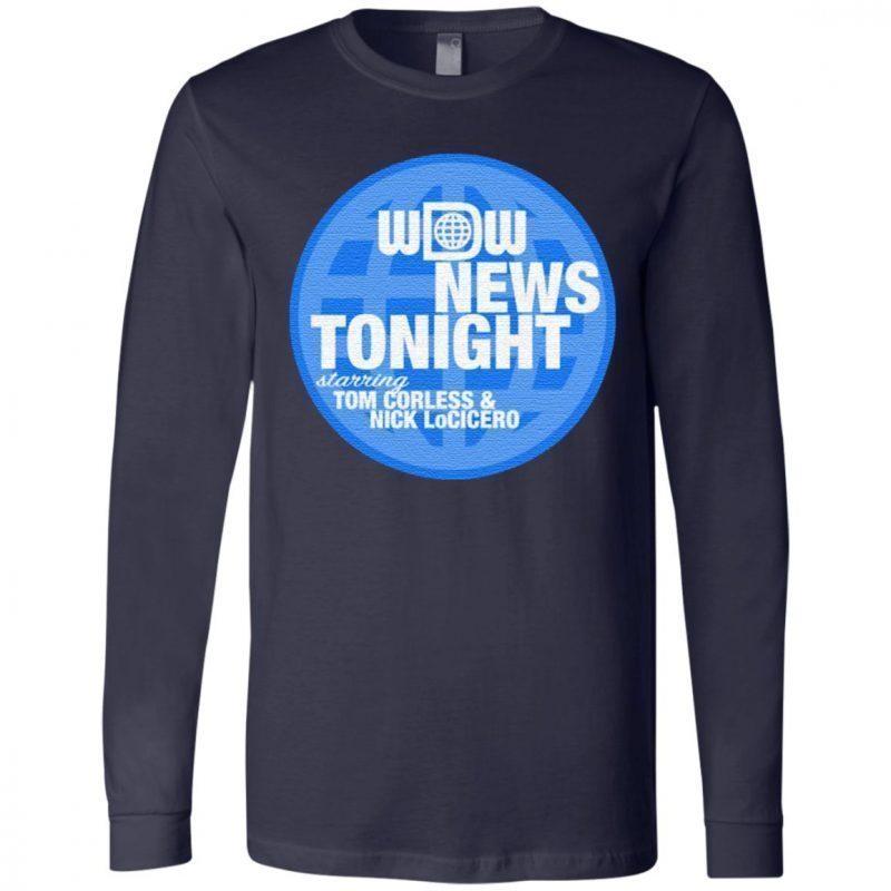 wdw news tonight t shirt