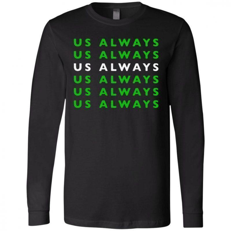 us always t shirt