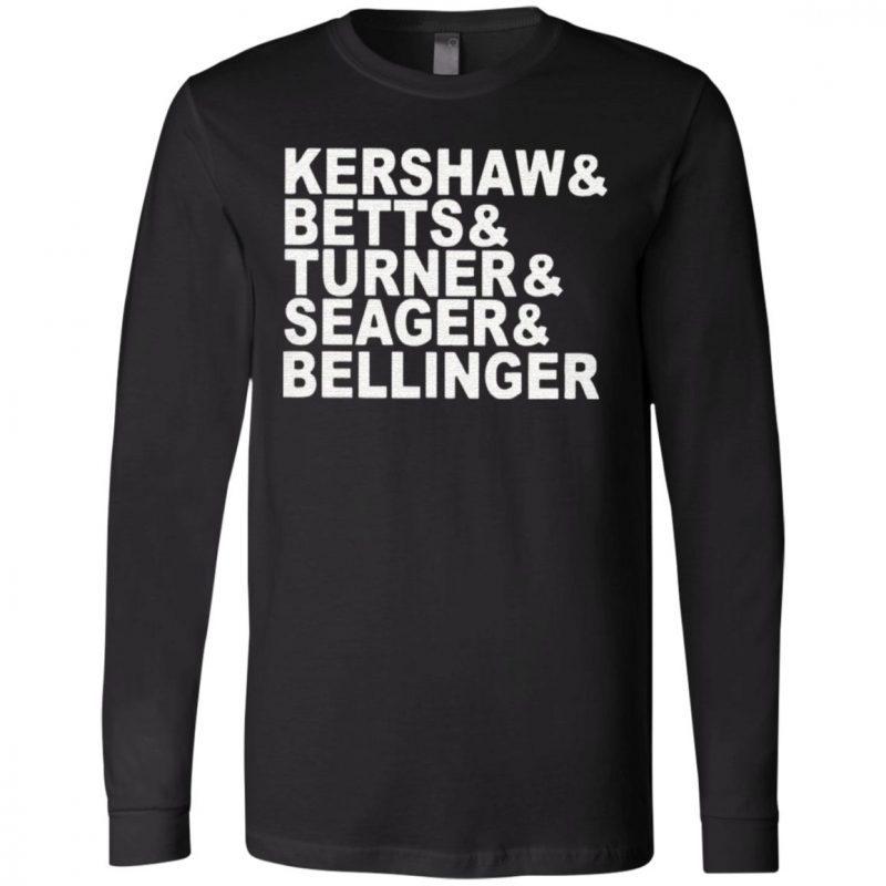 Kershaw – Beetts – Turner – Seager – Bellinger T Shirt