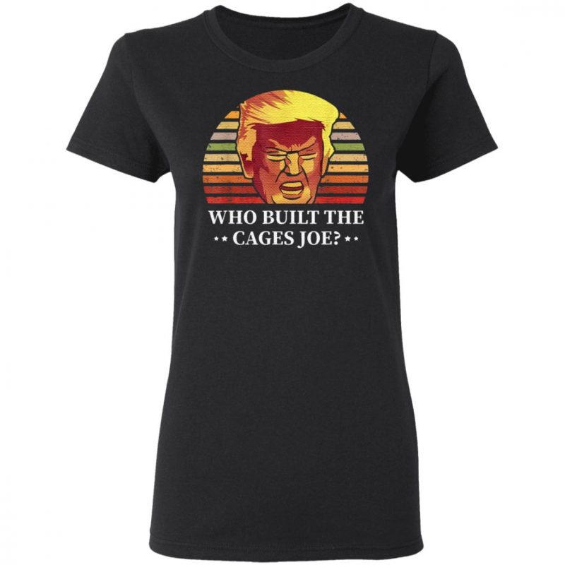 Who Built The Cages Joe Final President Debate 2020 T Shirt