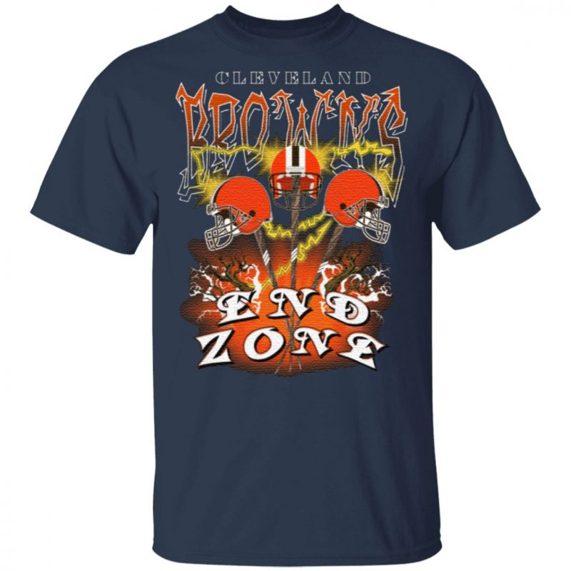 Cleveland Browns End Zone T Shirt
