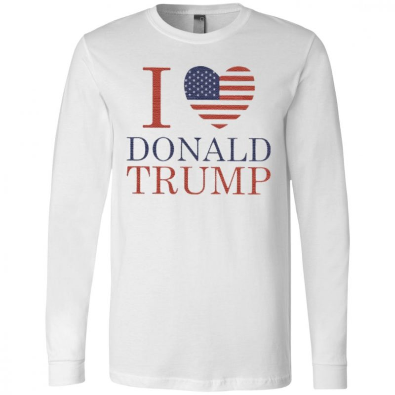 i love trump 2020 t shirt