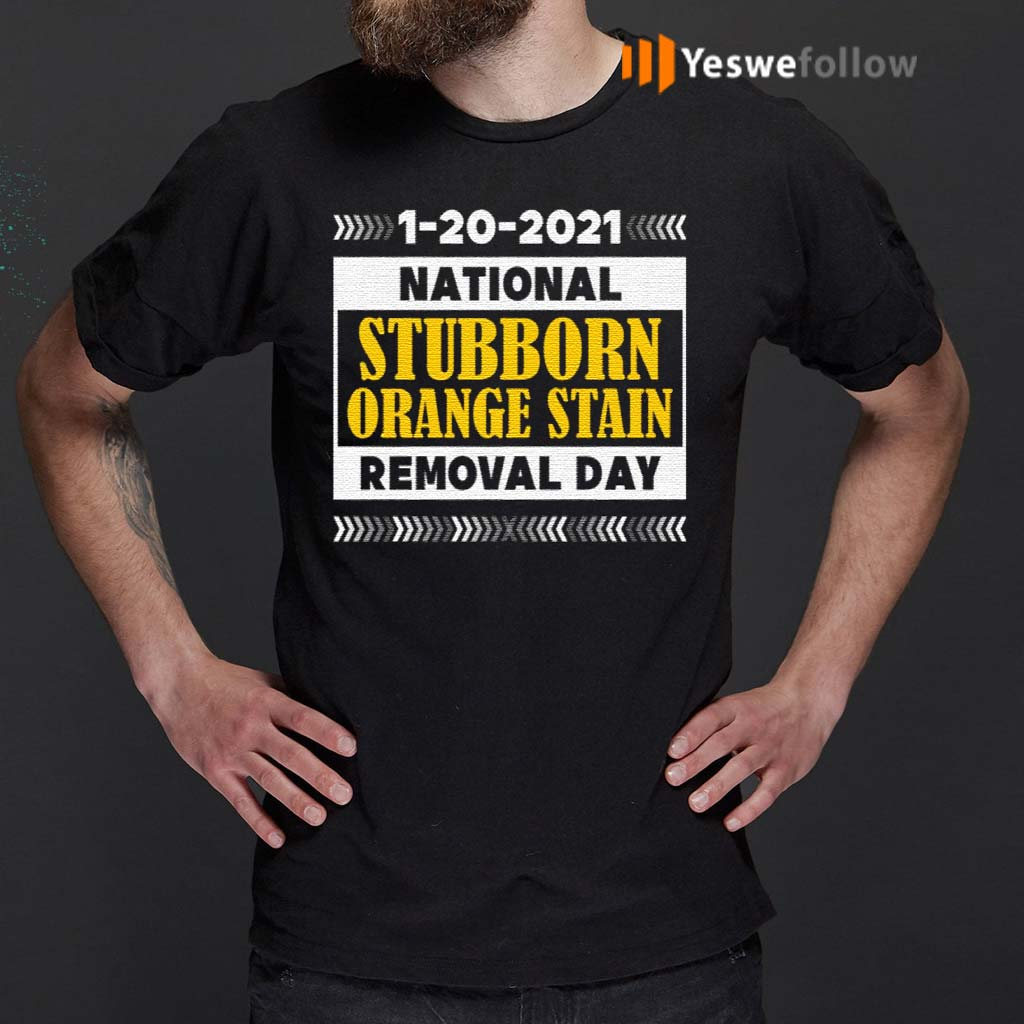1-20-2021-National-Stubborn-Orange-Stain-Removal-Day-T-Shirt