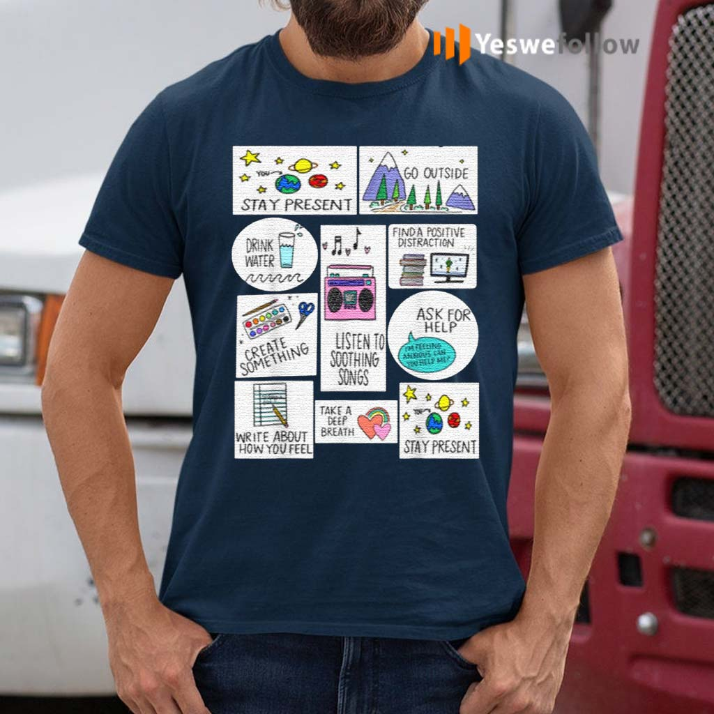 Activities-For-When-You-Are-Anxious-Anxiety-Activity-shirt