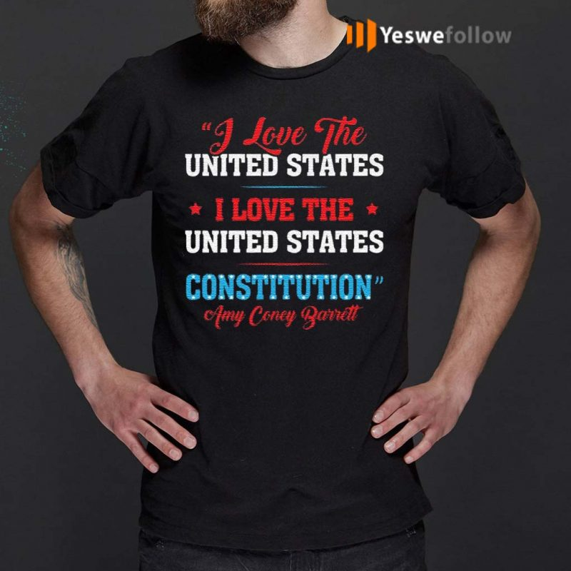 Amy-Coney-Barrett-I-Love-United-States-For-SCOTUS-Fill-The-Seat-2020-Political-T-Shirt