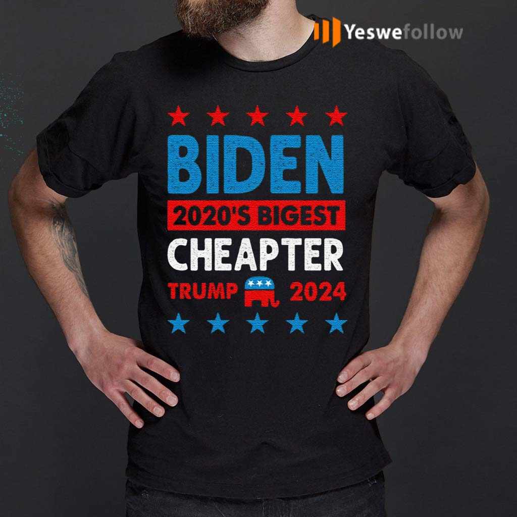 Biden-Cheated-–-2020's-Biggest-Cheater-Pro-Trump-2020-T-Shirt