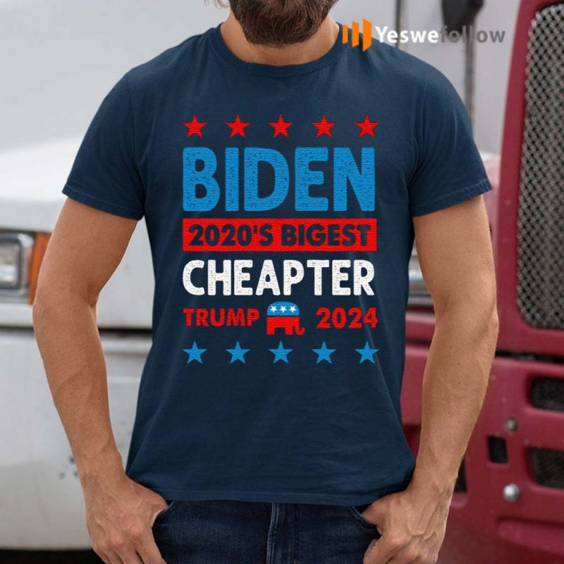 Biden-Cheated-–-2020's-Biggest-Cheater-Pro-Trump-2020-T-Shirts