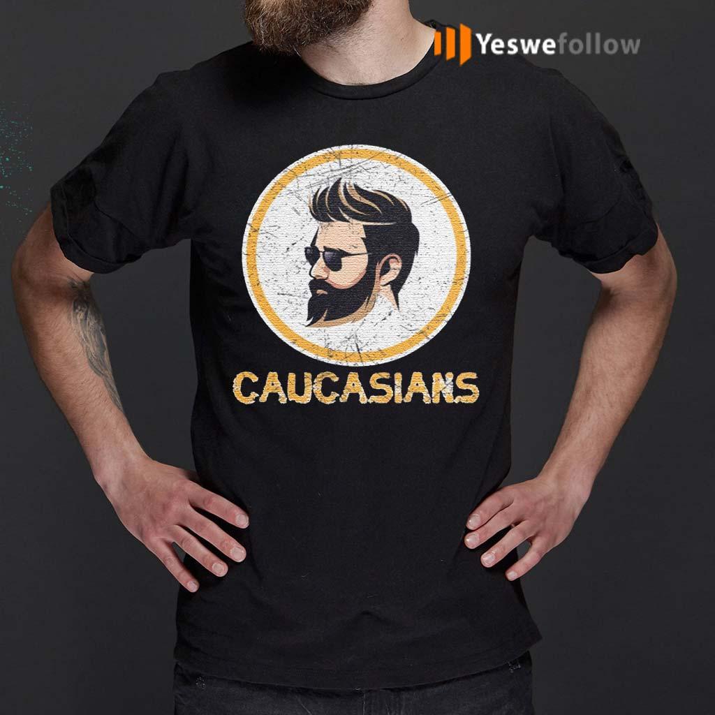 Caucasian-Pride-Dark-Hair-T-Shirt