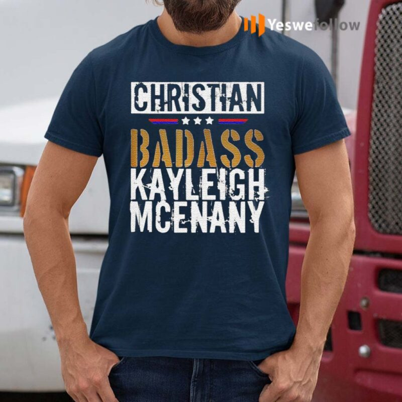 Christian-Badass-Kayleigh-Mcenany-shirt