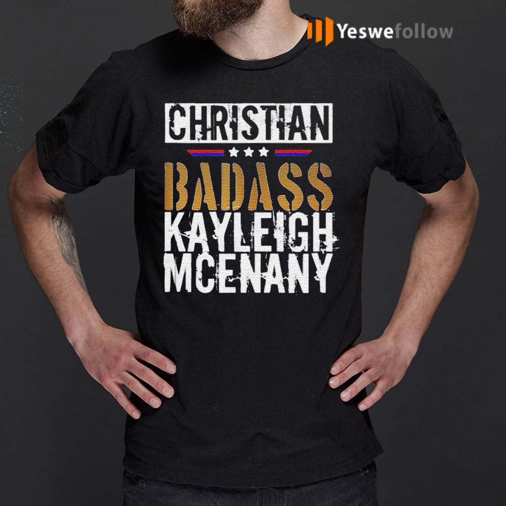 Christian-Badass-Kayleigh-Mcenany-shirts