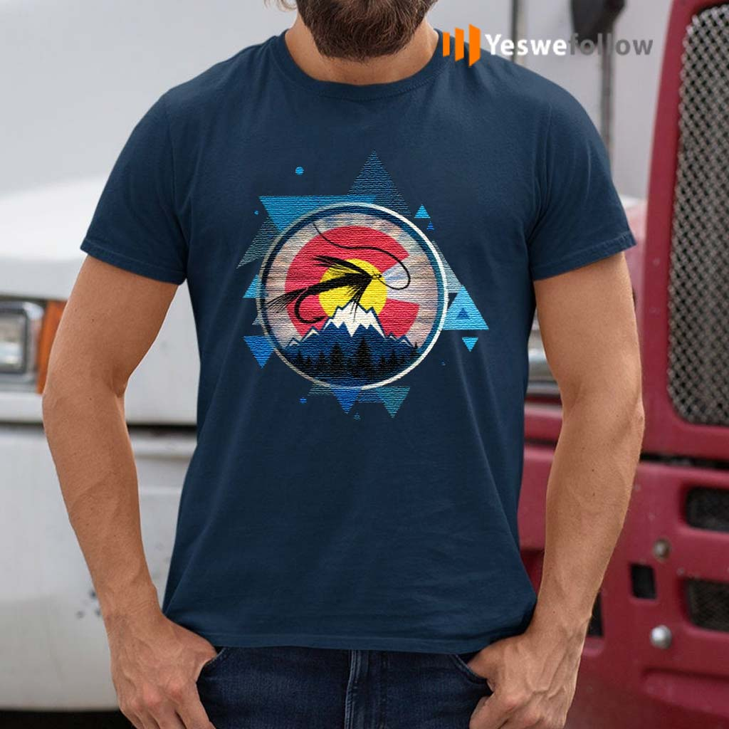 Colorado-Flag-With-Fly-Fishing-TShirt