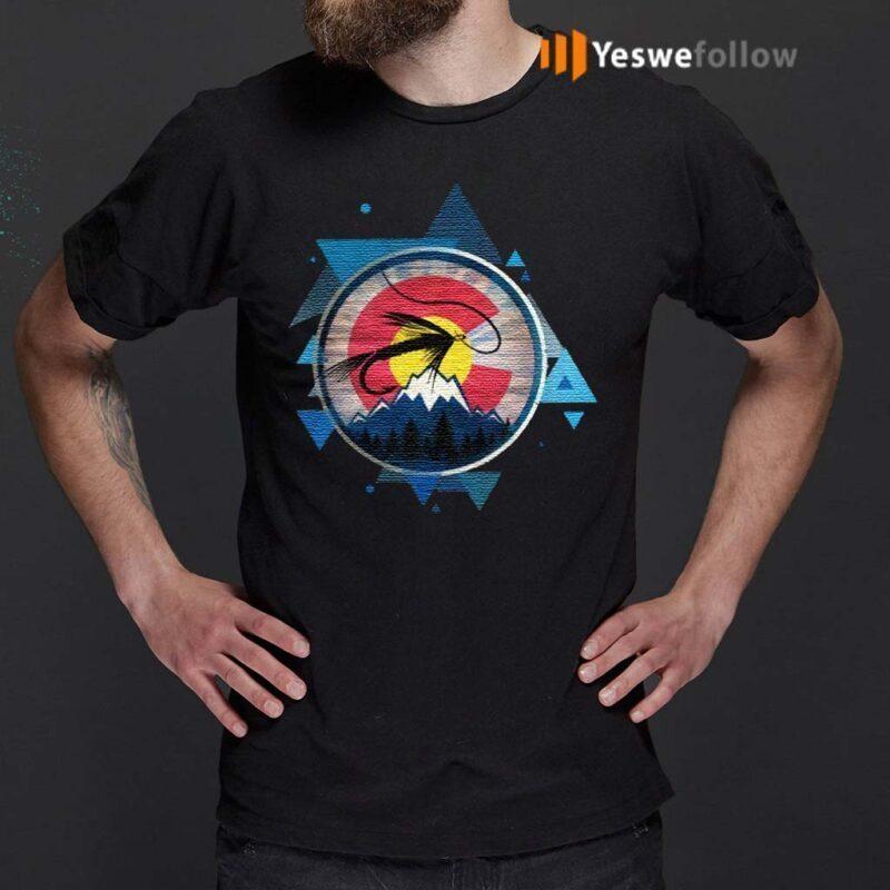 Colorado-Flag-With-Fly-Fishing-TShirts