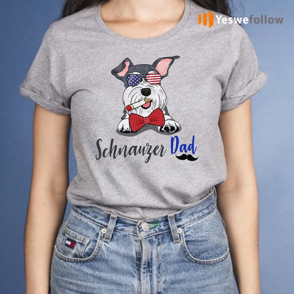 Dog-schnauzer-dad-shirt