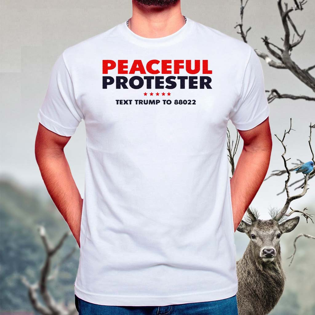 Donald-J-Trump-Merch-Store-Peaceful-Protester-Tee-Shirts