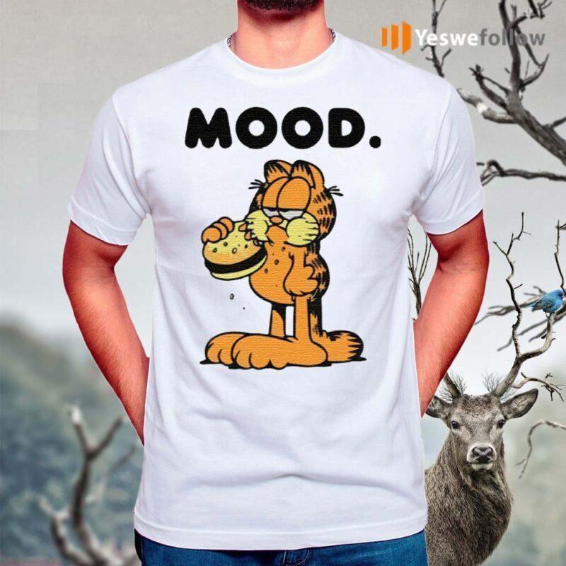 Garfield-mood-t-shirt