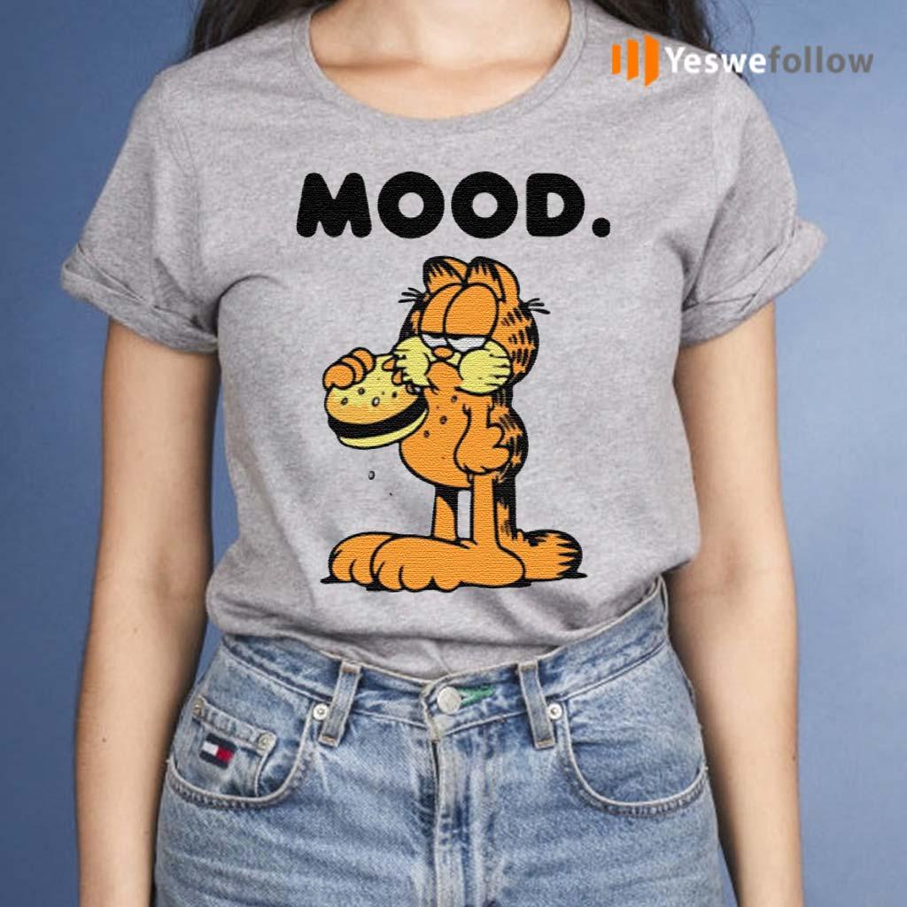Garfield-mood-t-shirts