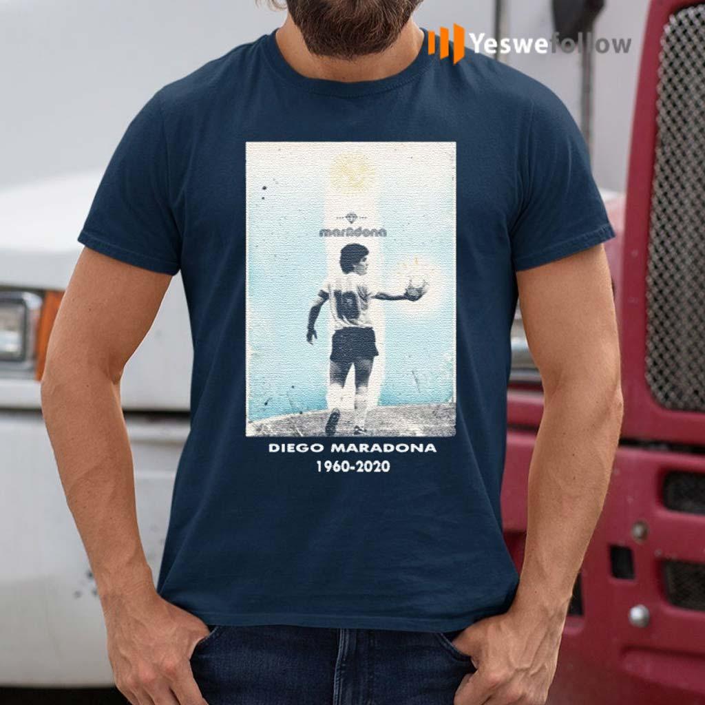 Goodbye-Diego-MRDN-1960-2020-Shirt