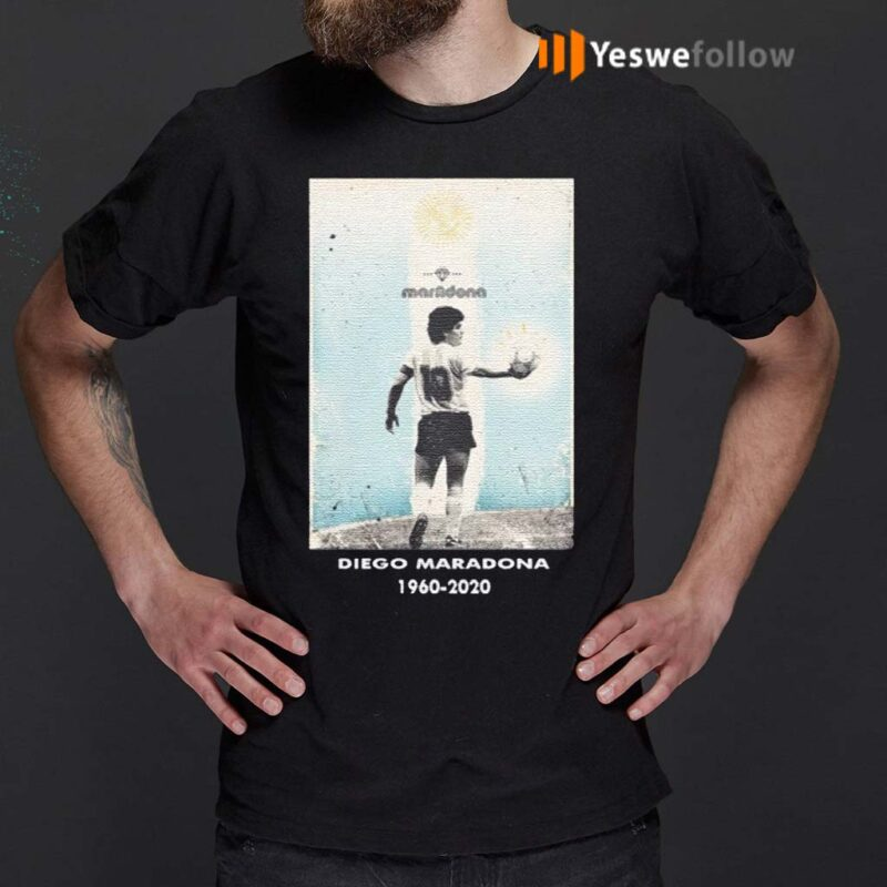 Goodbye-Diego-MRDN-1960-2020-Shirts