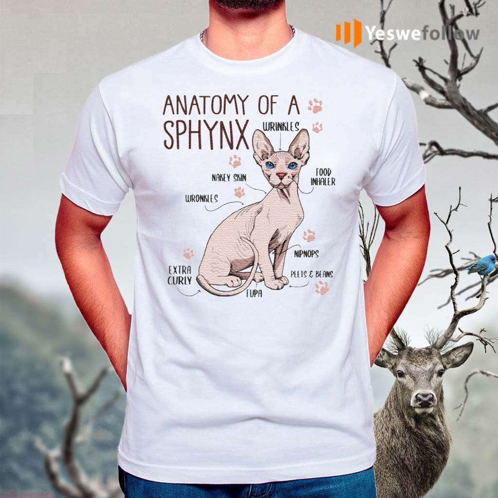 Hairless-Sphynx-Cat-Anatomy-Cat-with-No-Hair-Perfect-Paw-Cat-Lover-Gift-T-Shirt